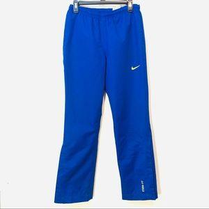 Nike Golf Storm Fit Royal Blue Athletic Pants Smal